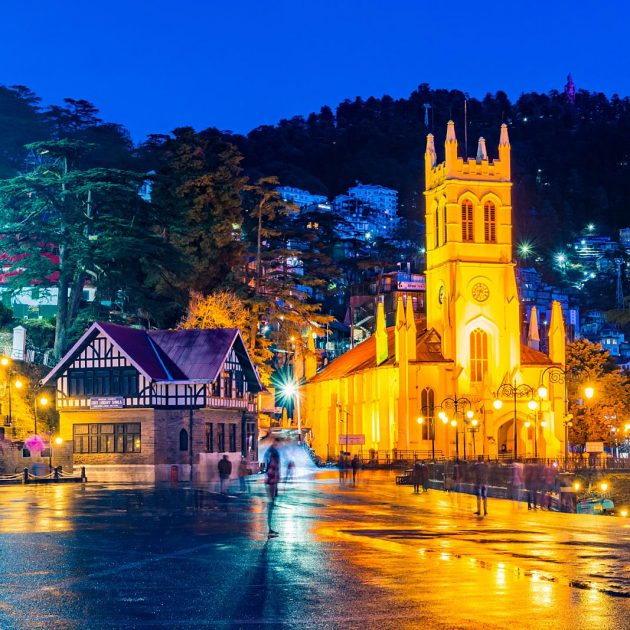 Book Chandigarh to Shimla One Way Taxi Services