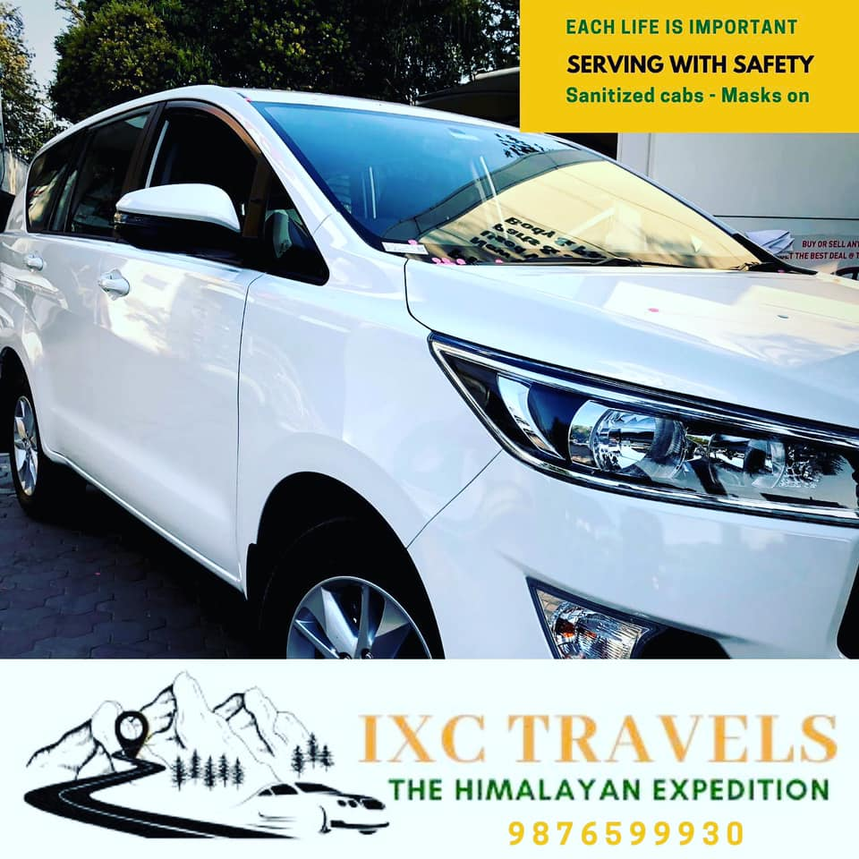 IXC Travels, the Best Private Taxi Operator with safe and sanitized cabs during this coronavirus outbreak