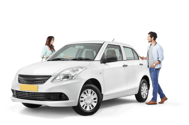 Hire AC Sedan for one way taxi from Chandigarh from IXC Travels for 3-4 passengers
