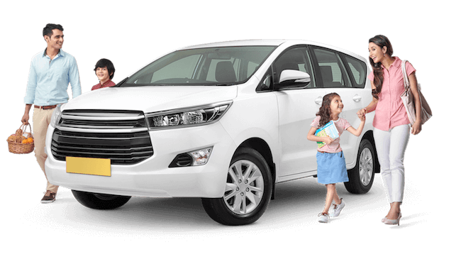 Hire AC SUV, AC Luxury, Innova Crysta for one way taxi from Chandigarh with IXC Travels for 5-7 passengers